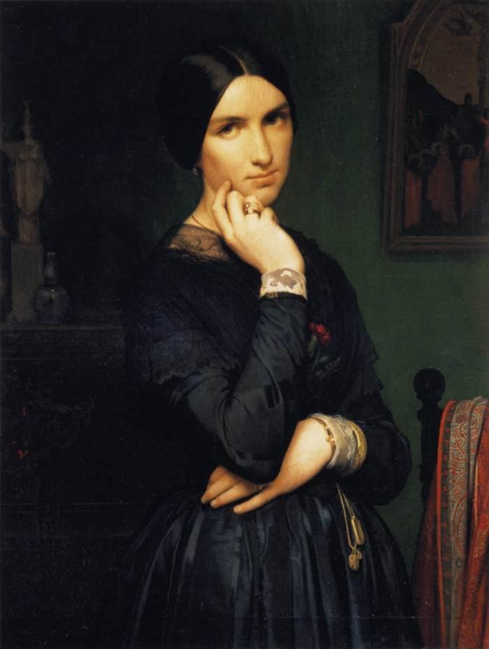 Ипполит Фландрин: мадам Ипполит Фландрин