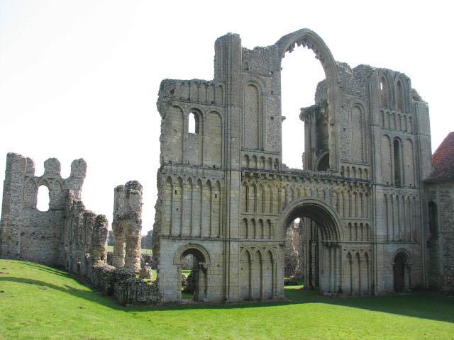 Priory ruins, Castle Acre - geograph.org.uk - 1557570