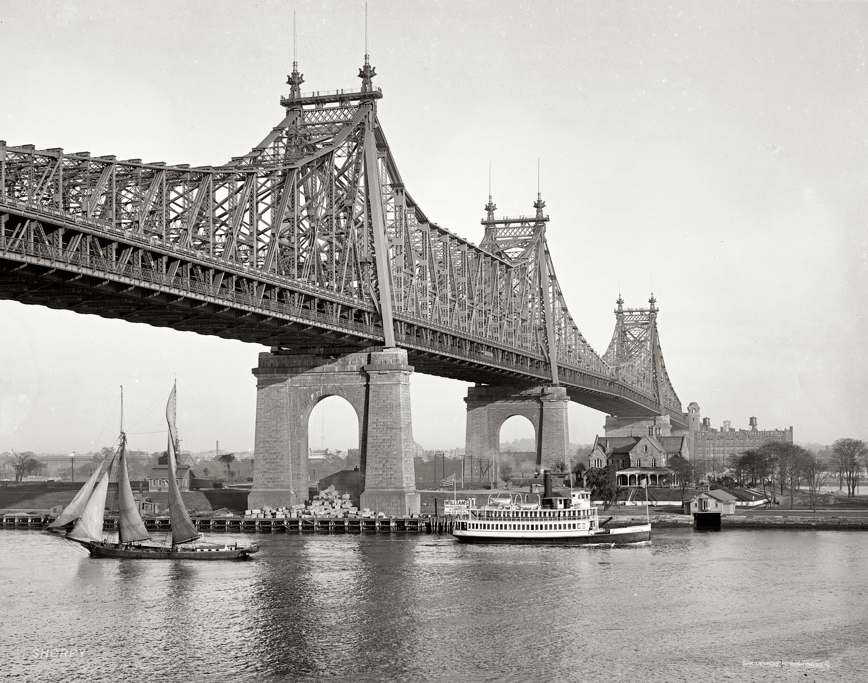 Description queensboro bridge 1910