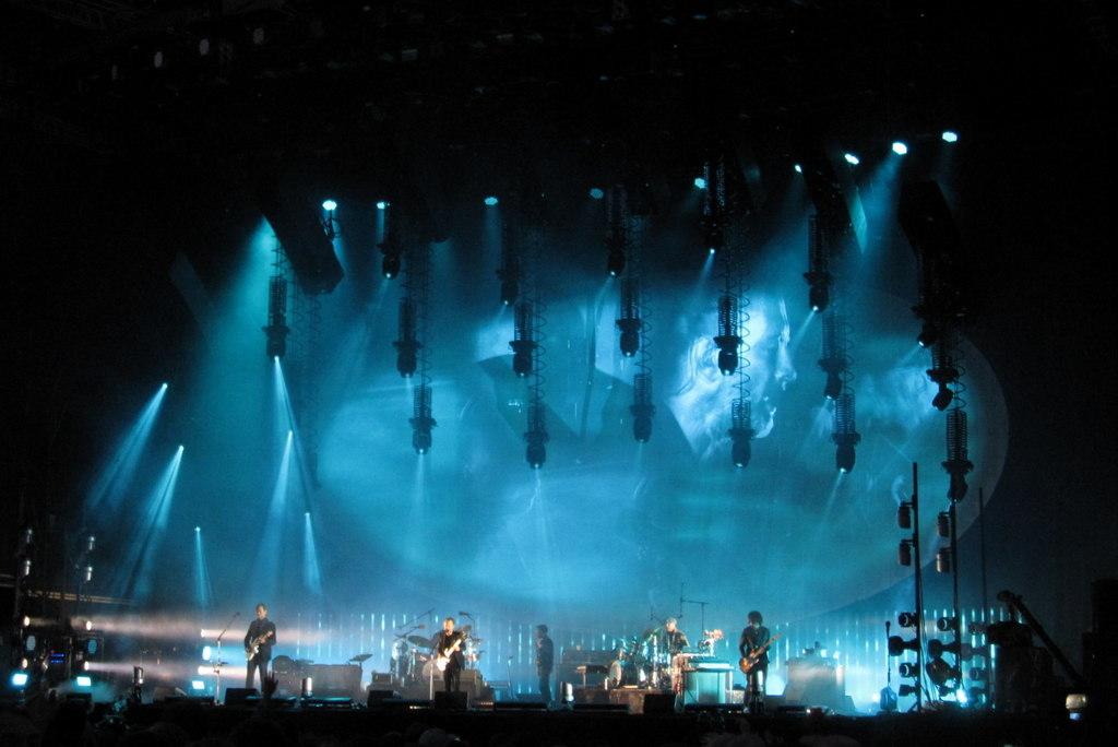 La banda en el TRNSMT Festival de Glasgow en julio de 2017.