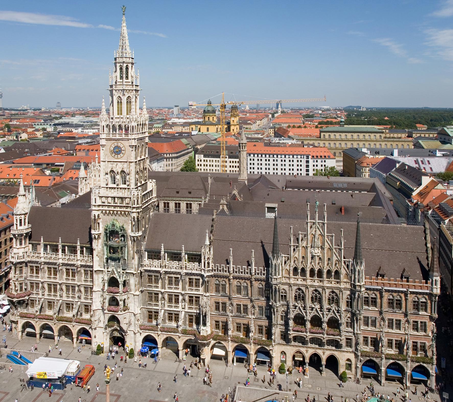 Neues Rathaus (München) - Wikiwand