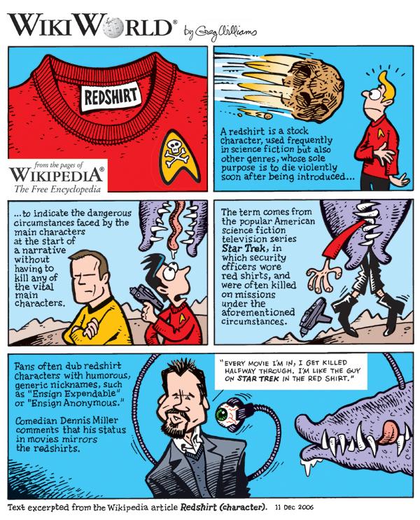 redshirt wikidata