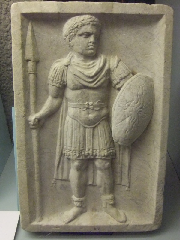 File Roman Marble Relief Early 3rd Century Ad World