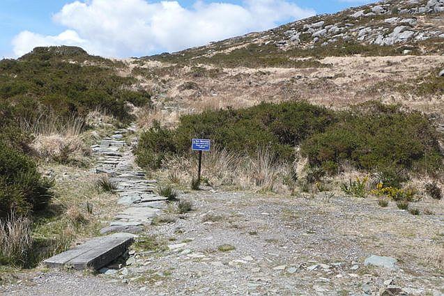 Route to Torc Mountain - geograph.org.uk - 776974