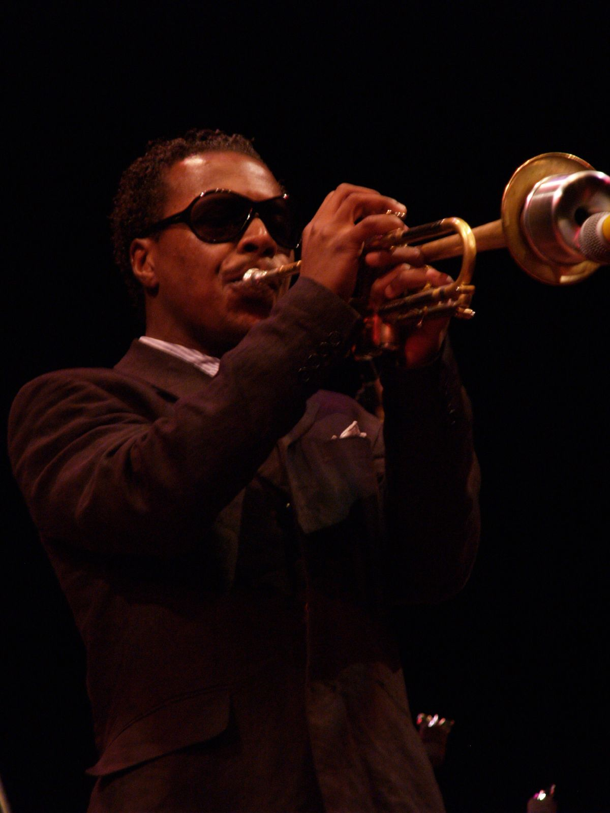 Roy Anthony Hargrove born October 16 1969 is an American jazz trumpeter He won worldwide notice after winning two Grammy Awards for differing types of music in