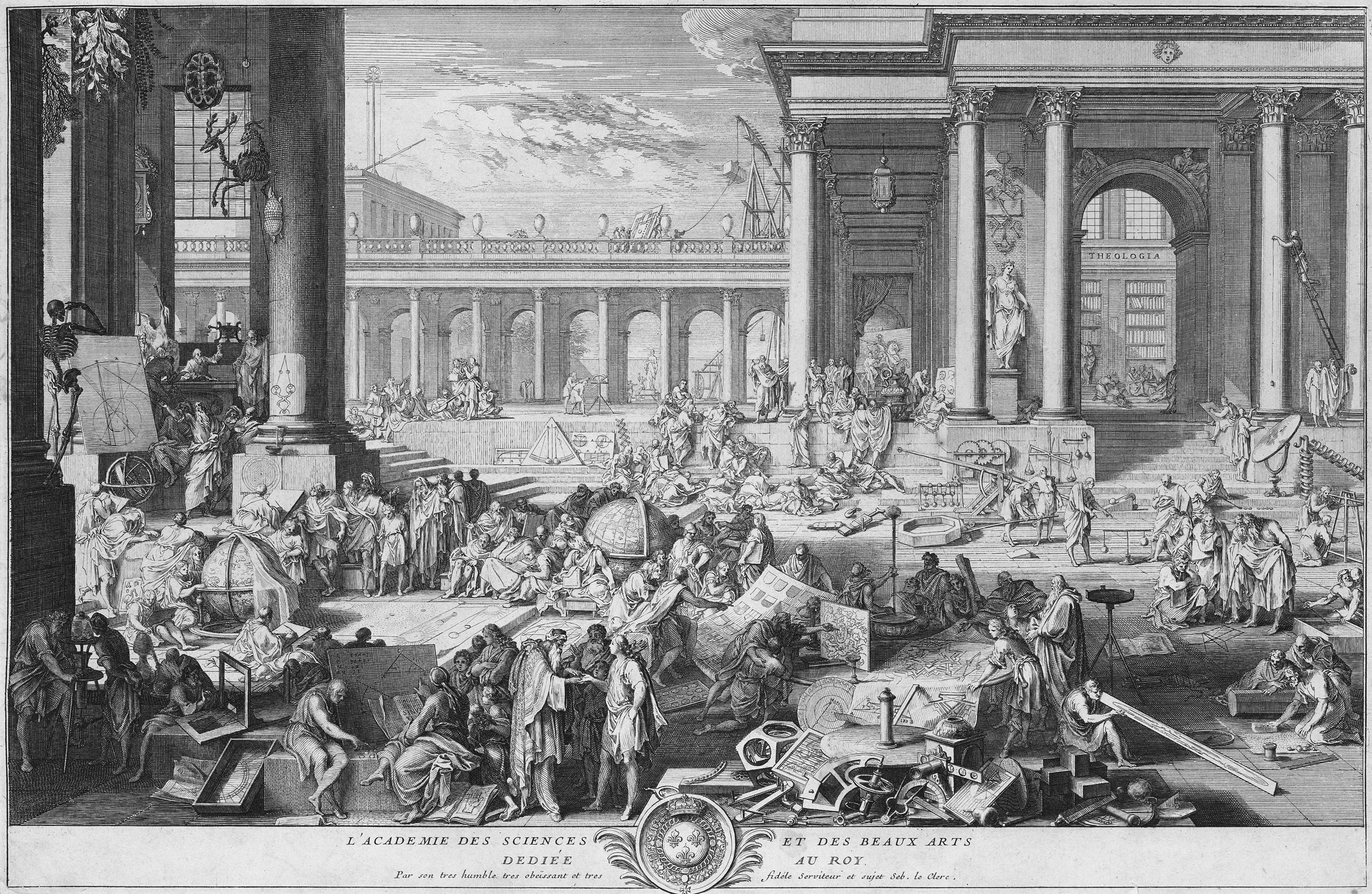 File:Sébastien Leclerc I, L'Académie des Sciences et des Beaux-Arts