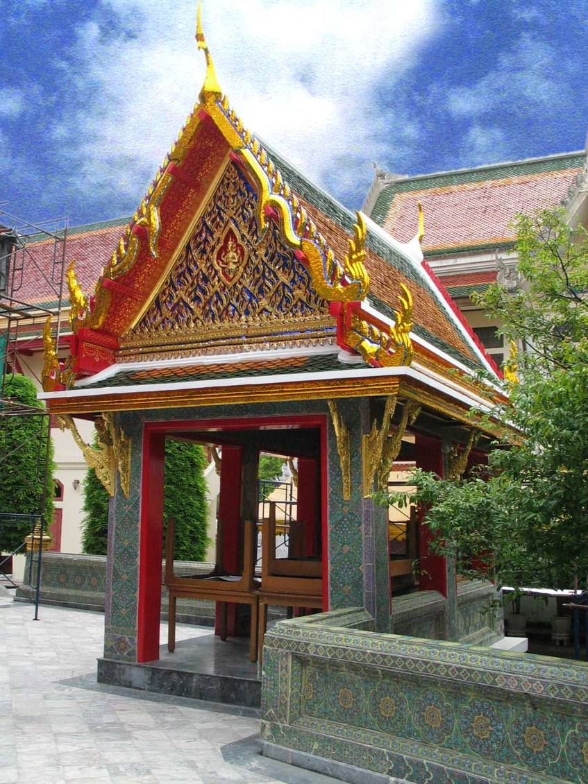 Sala thai architecture wikipedia for Thailand architecture