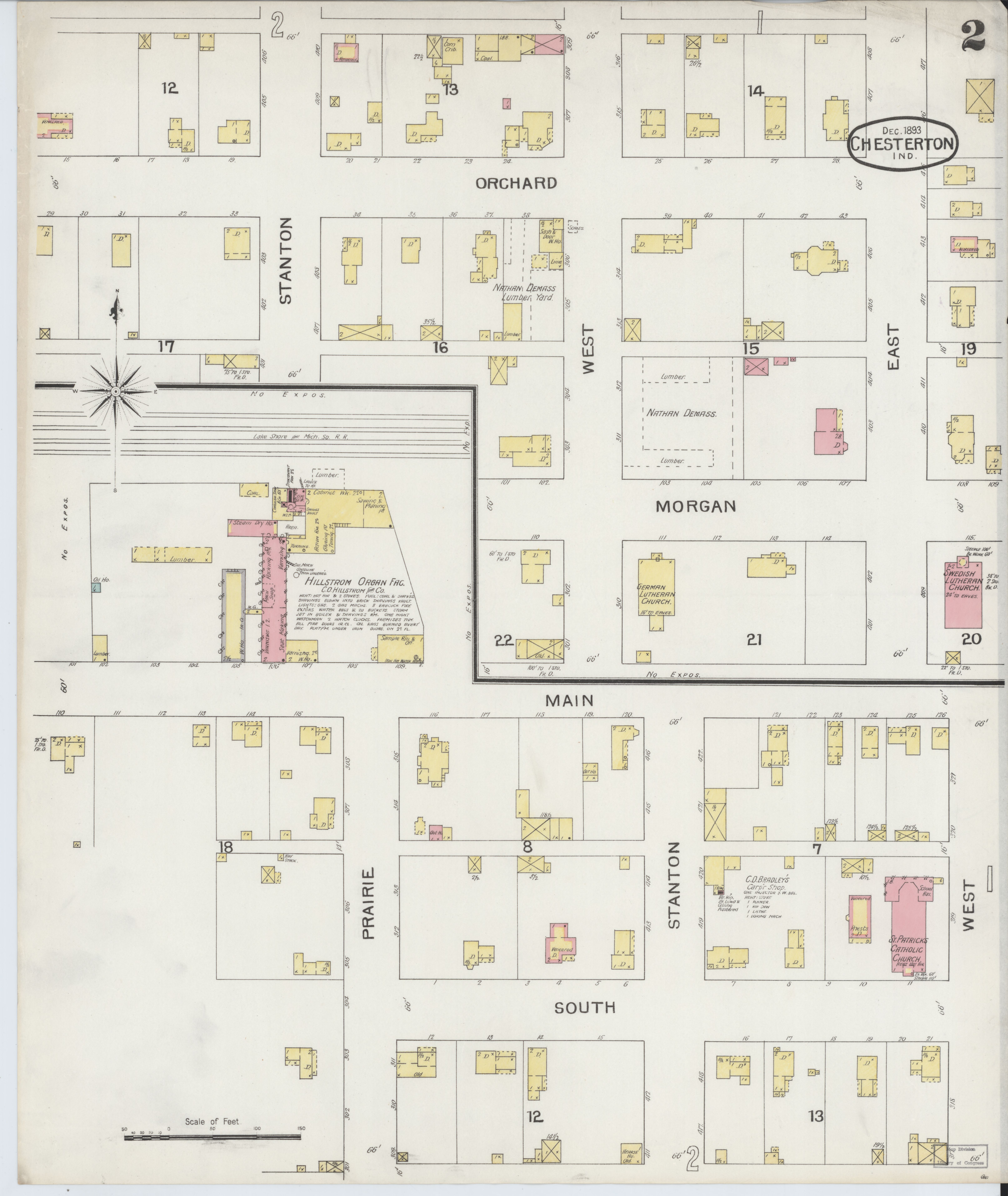 File Sanborn Fire Insurance Map From Chesterton Porter County