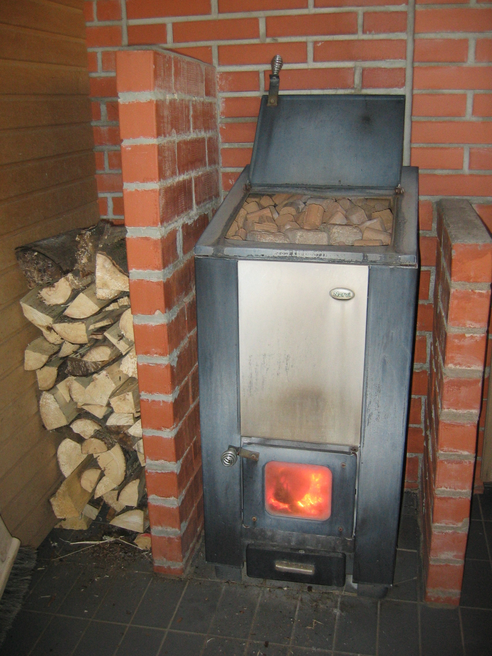 Wood Burning Stove Controls Wood-burning Sauna Stove