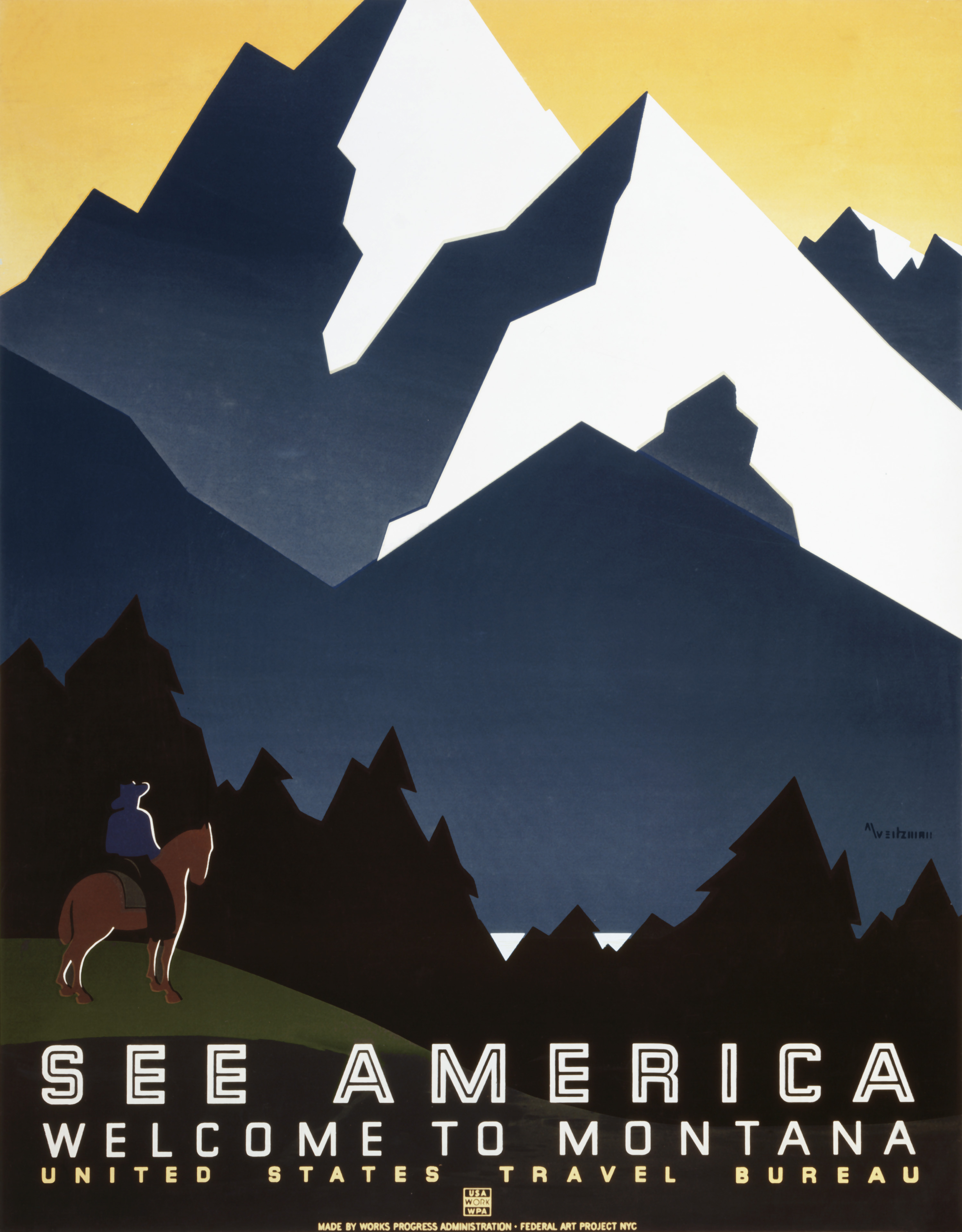 Usa Travel Posters