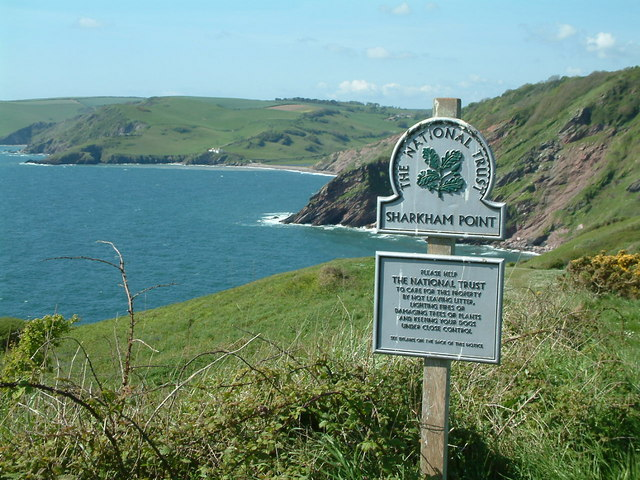 Sharkham Point and Southdown Cliff - geograph.org.uk - 413624