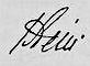 Karl Freiherr vom Stein, Gemälde von Johann Christoph Rincklake, 1804. Steins Unterschrift: (Quelle: Wikimedia)