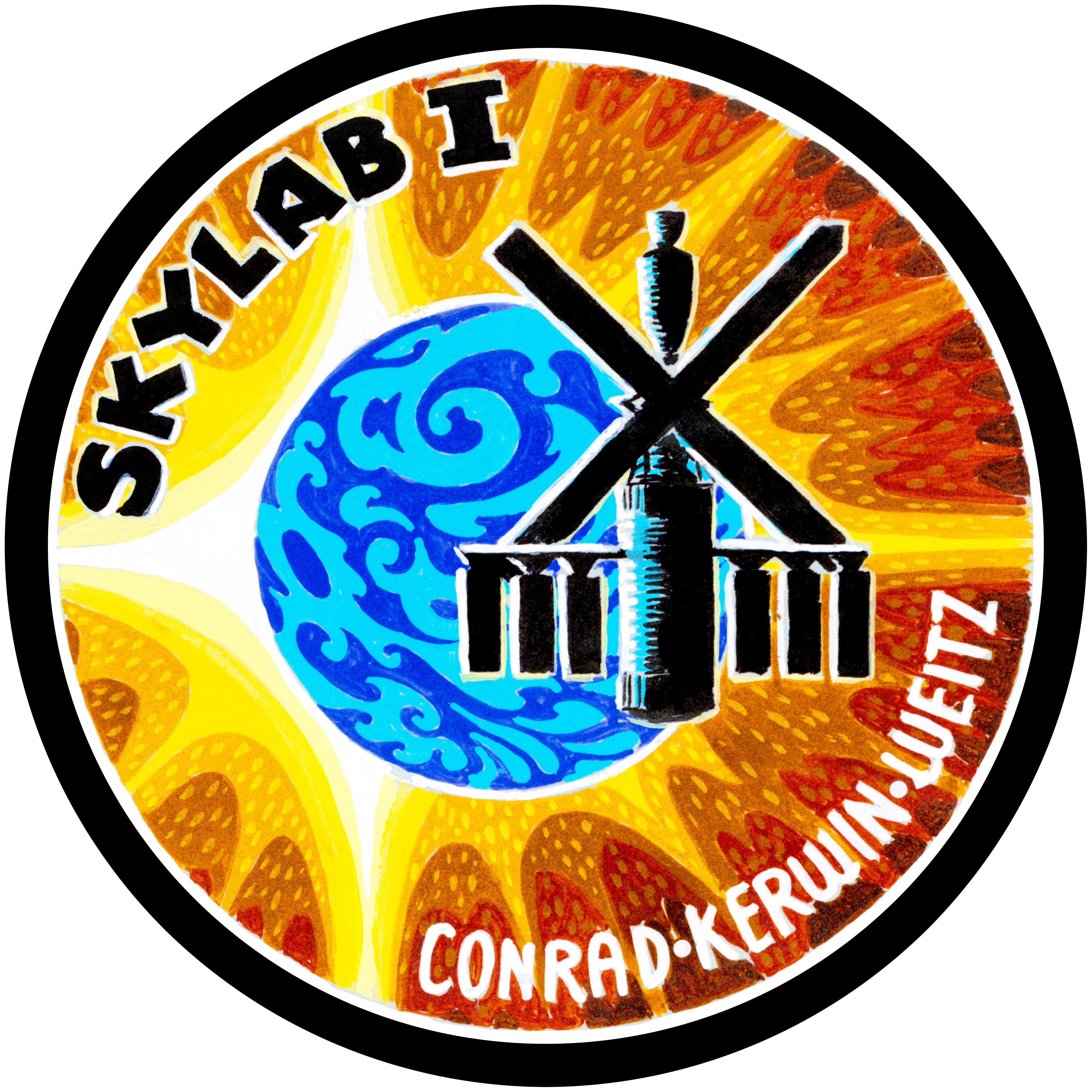 Désintégration de Skylab - 11.7.1979 Skylab1-Patch