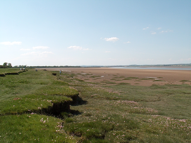 Solway Firth near Glasson - geograph.org.uk - 1353305