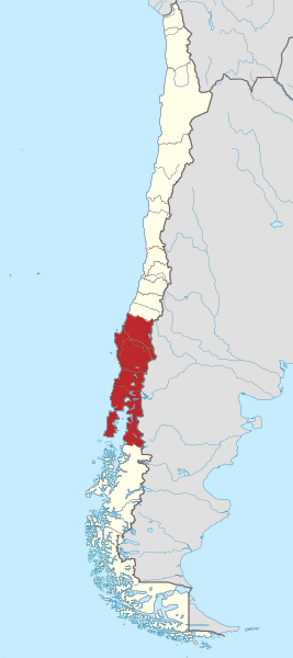 Map Southern Chile File:Southern Chile location map.png   Wikimedia Commons