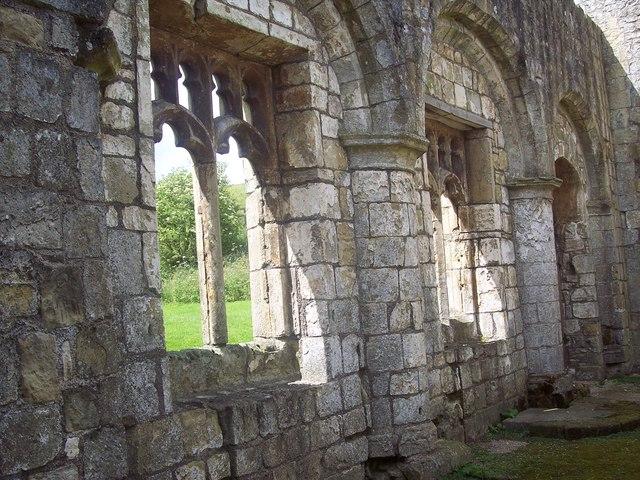 St Martin's Church, Wharram Percy - Detail - geograph.org.uk - 500973