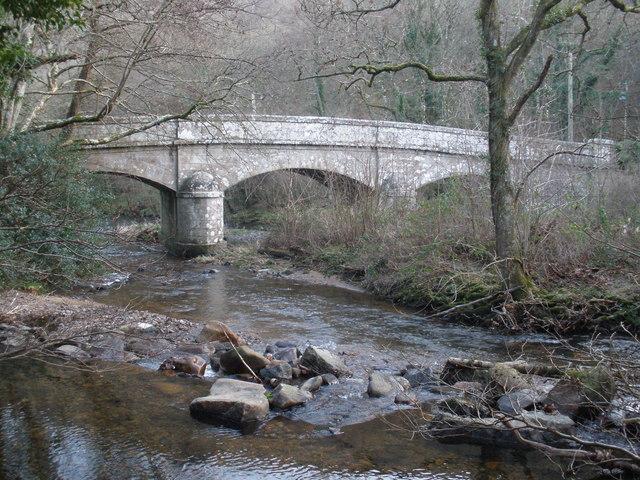 Steps Bridge, near Dunsford, Devon - geograph.org.uk - 1094055