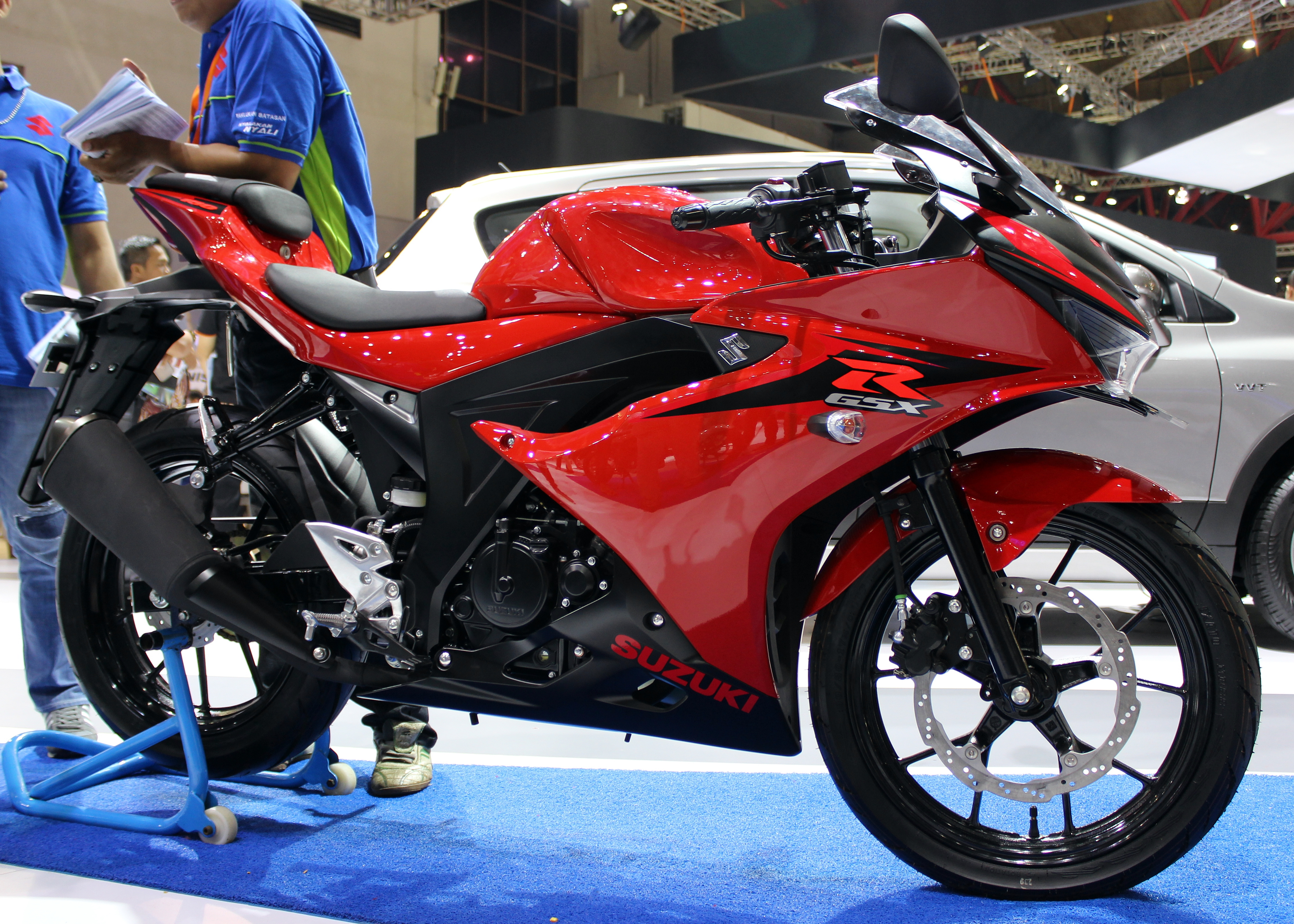 File Suzuki Gsx R150 Indonesia International Motor Show 2017