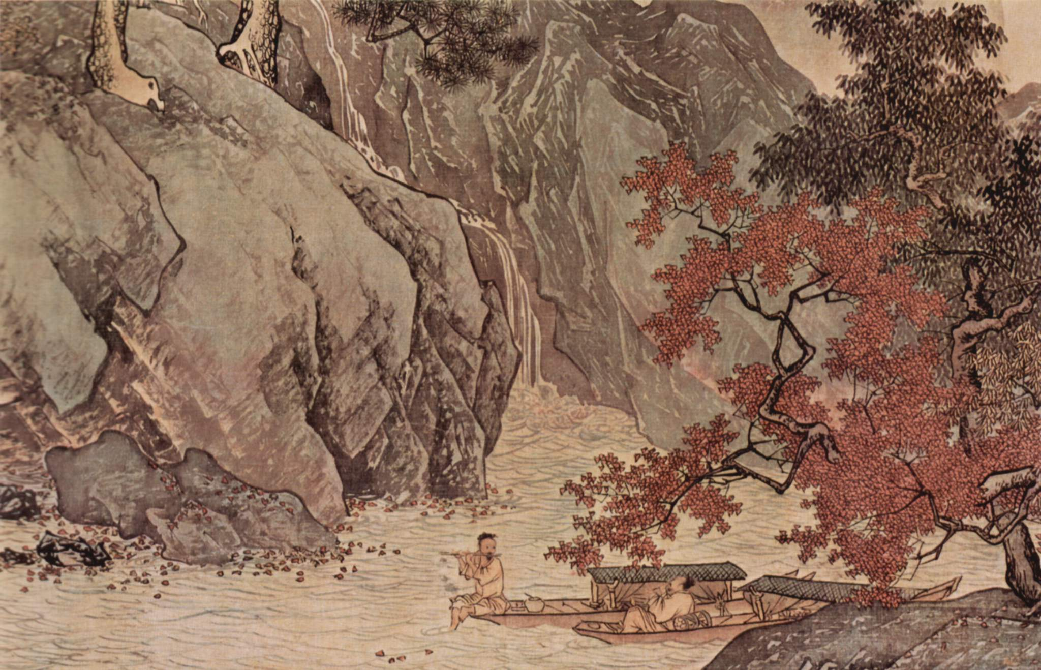Image result for autumn in the mountain chinese