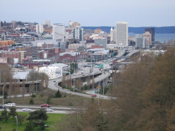 File:Tacoma skyline and I-705 from the East 34th Street Bridge.jpg