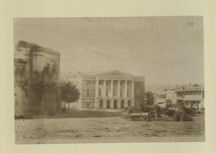 File:Tbilisi, Orthodox Theological Seminary on Yerevan ...