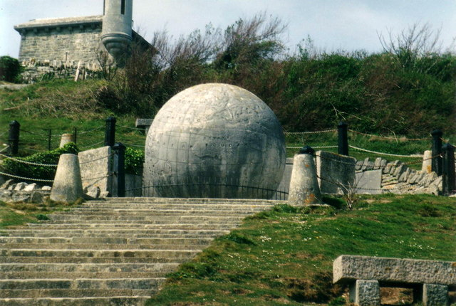 The Durlston Globe from below - geograph.org.uk - 355124