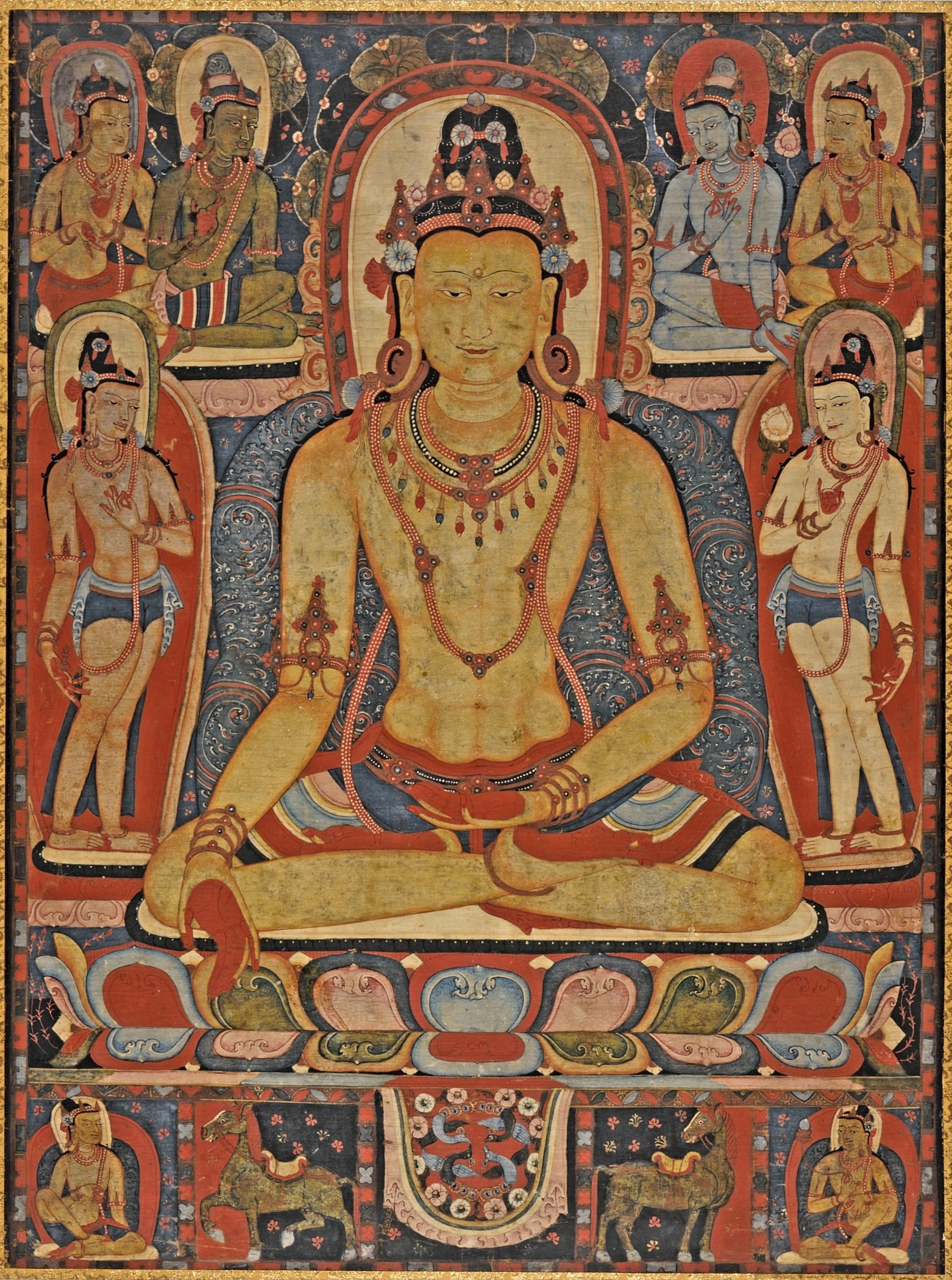 file the jina buddha ratnasambhava central tibet  a