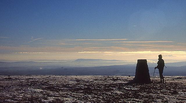 The Summit of Ingleborough - geograph.org.uk - 958246