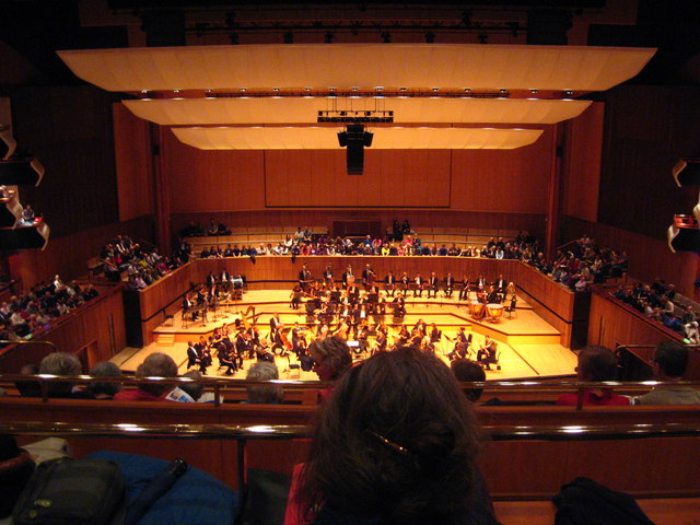 The concert hall at the Royal Festival Hall - geograph.org.uk - 1575927.jpg
