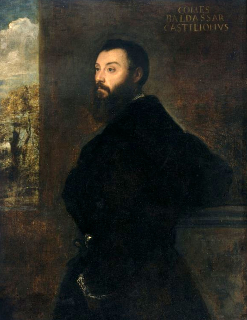 Ritratto di Baldassarre Castiglione (Tiziano) - Wikipedia