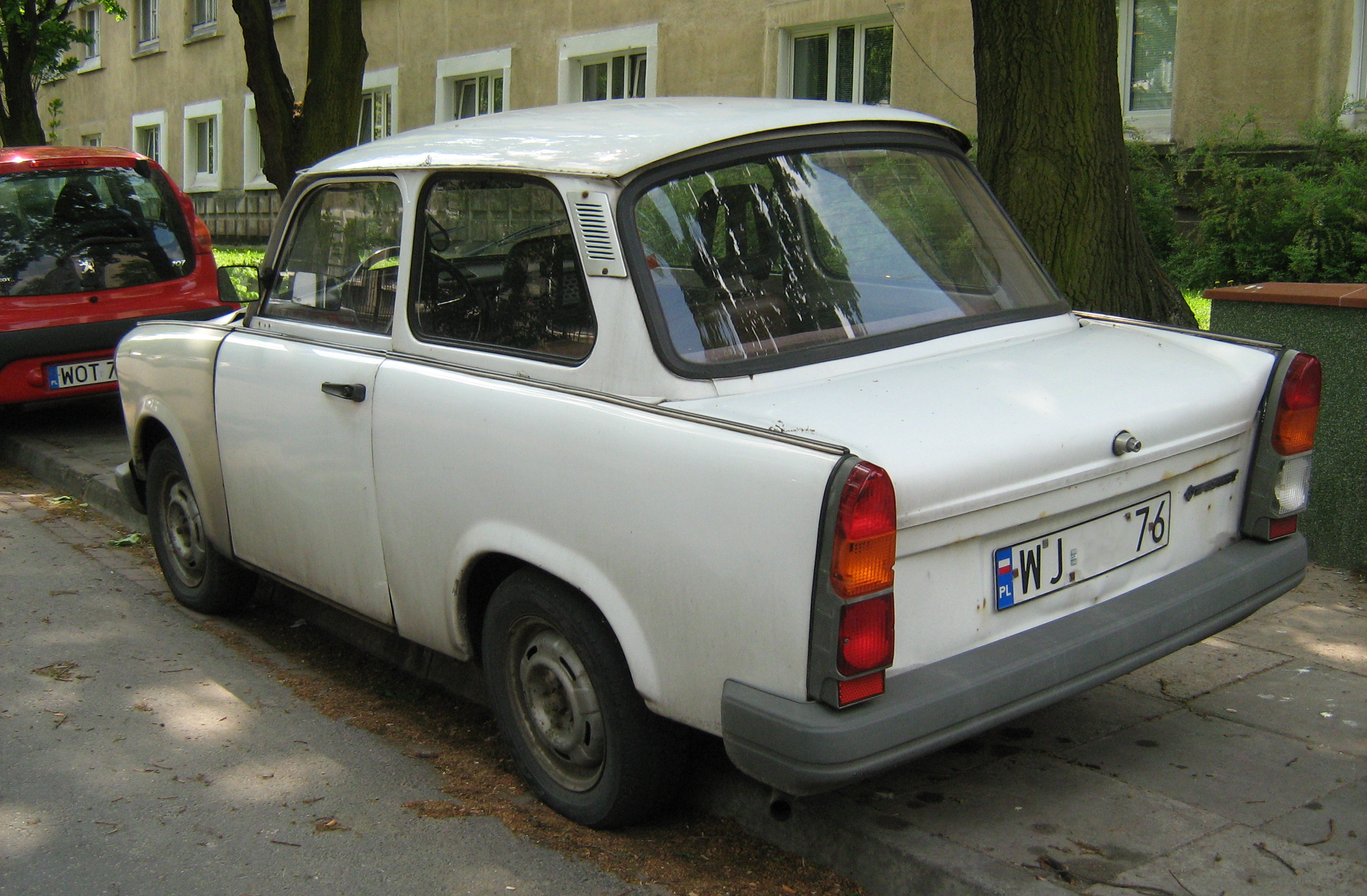 file trabant 1 1 sedan warsaw wikimedia commons. Black Bedroom Furniture Sets. Home Design Ideas