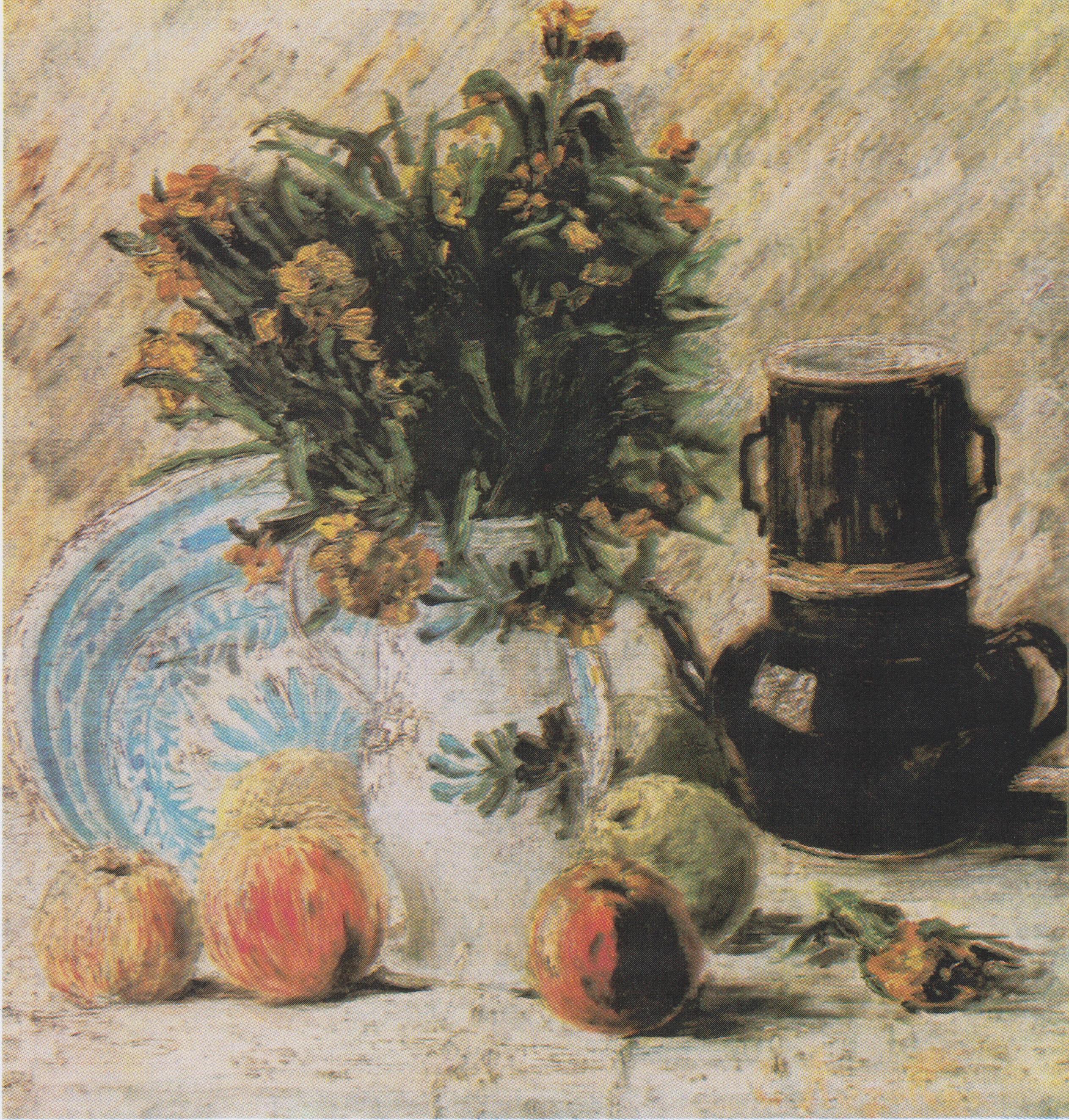 Fabelhaft File:Van Gogh - Vase mit Blumen, Kaffeekanne und Früchte.jpeg &NZ_67