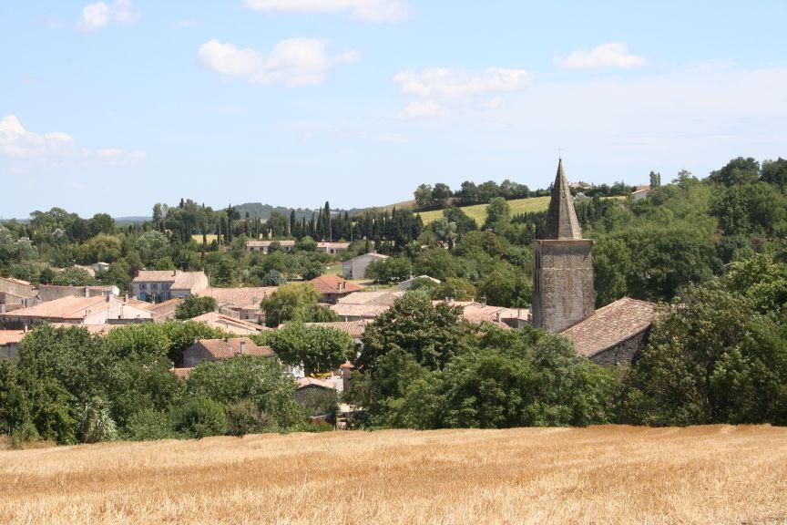 Village et abbaye de Saint-Papoul