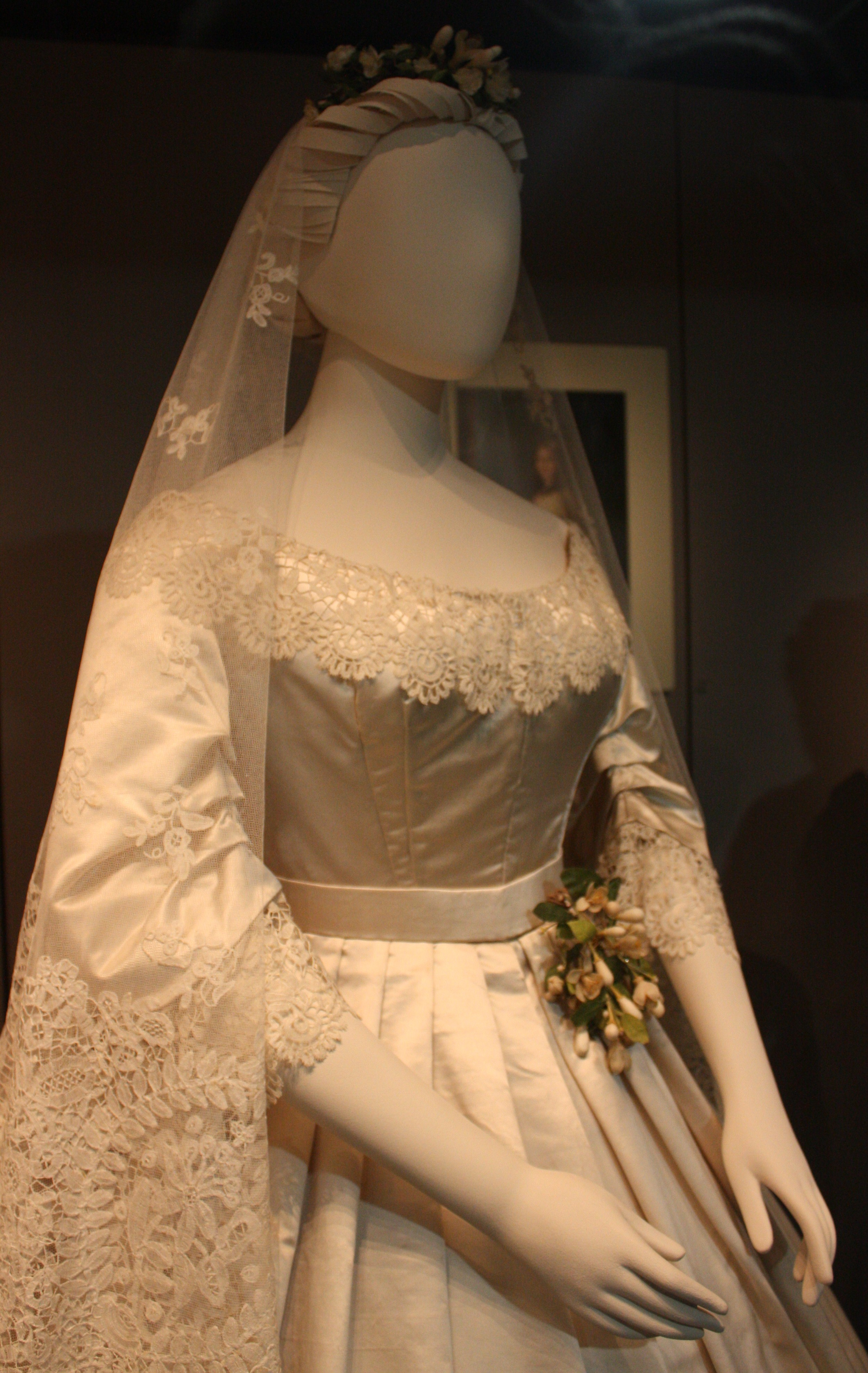 History of Honiton Lace Trimmed With Honiton Lace