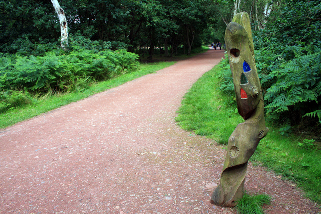 Waymark Sherwood Forest Country Park - geograph.org.uk - 890690