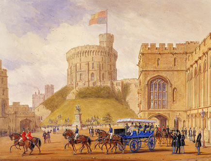 Charabanc Outings Windsor1844Louis-PhilippeMarie-Am%C3%A9lieRoyalPartyCharabancJosephNash_edited