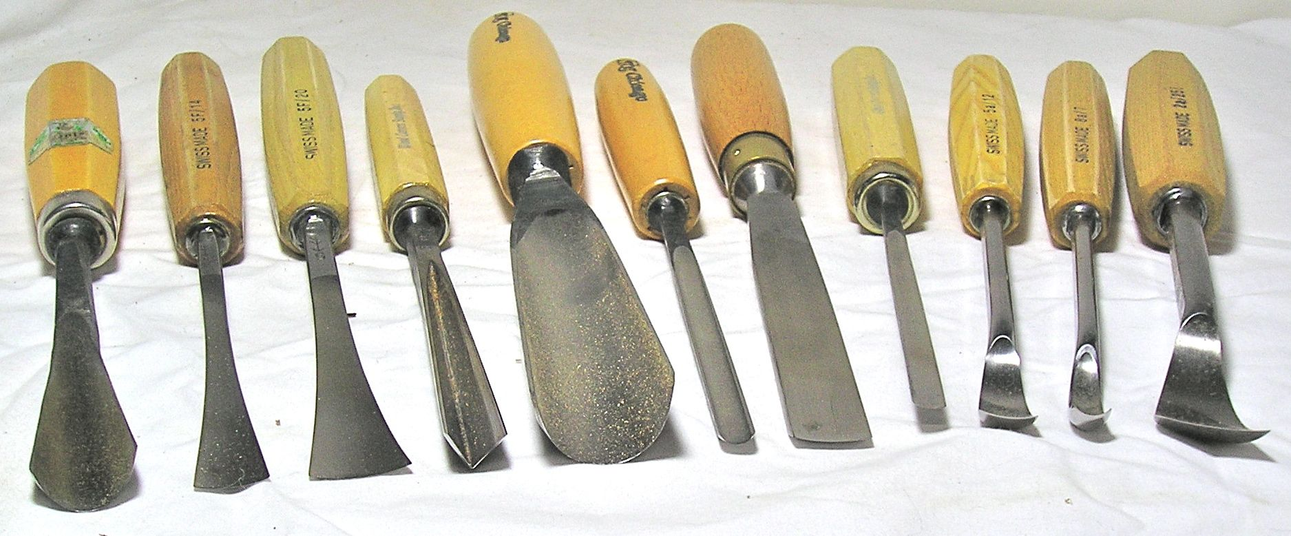 wood carving gouges