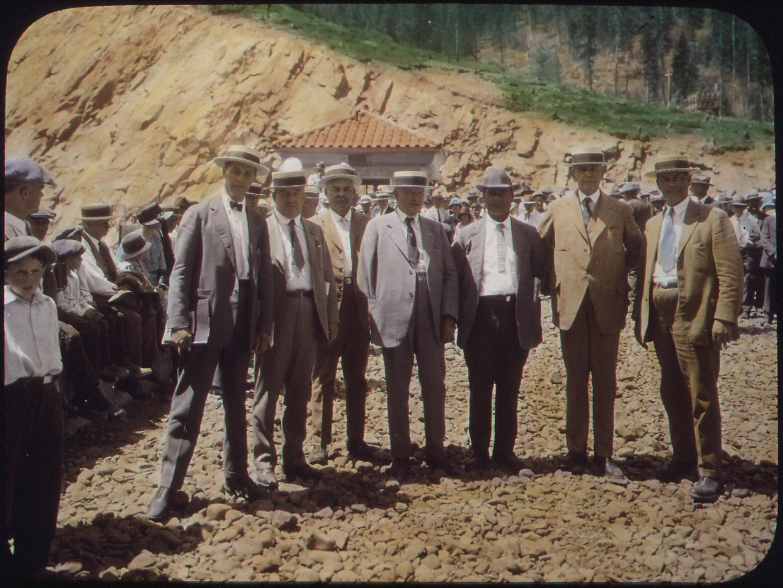 File:Yakima-Tieton Project - Dedication of Tieton Dam, July