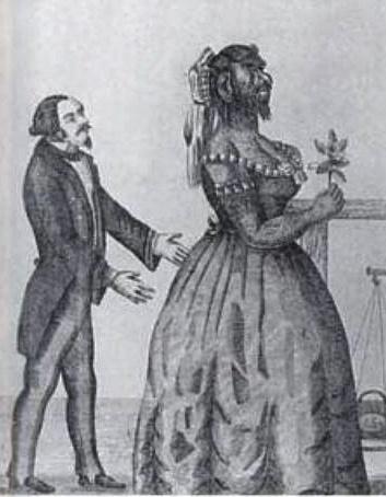 File:Zirkus Theodore Lent mit Julia Pastrana.jpg - Wikimedia Commons