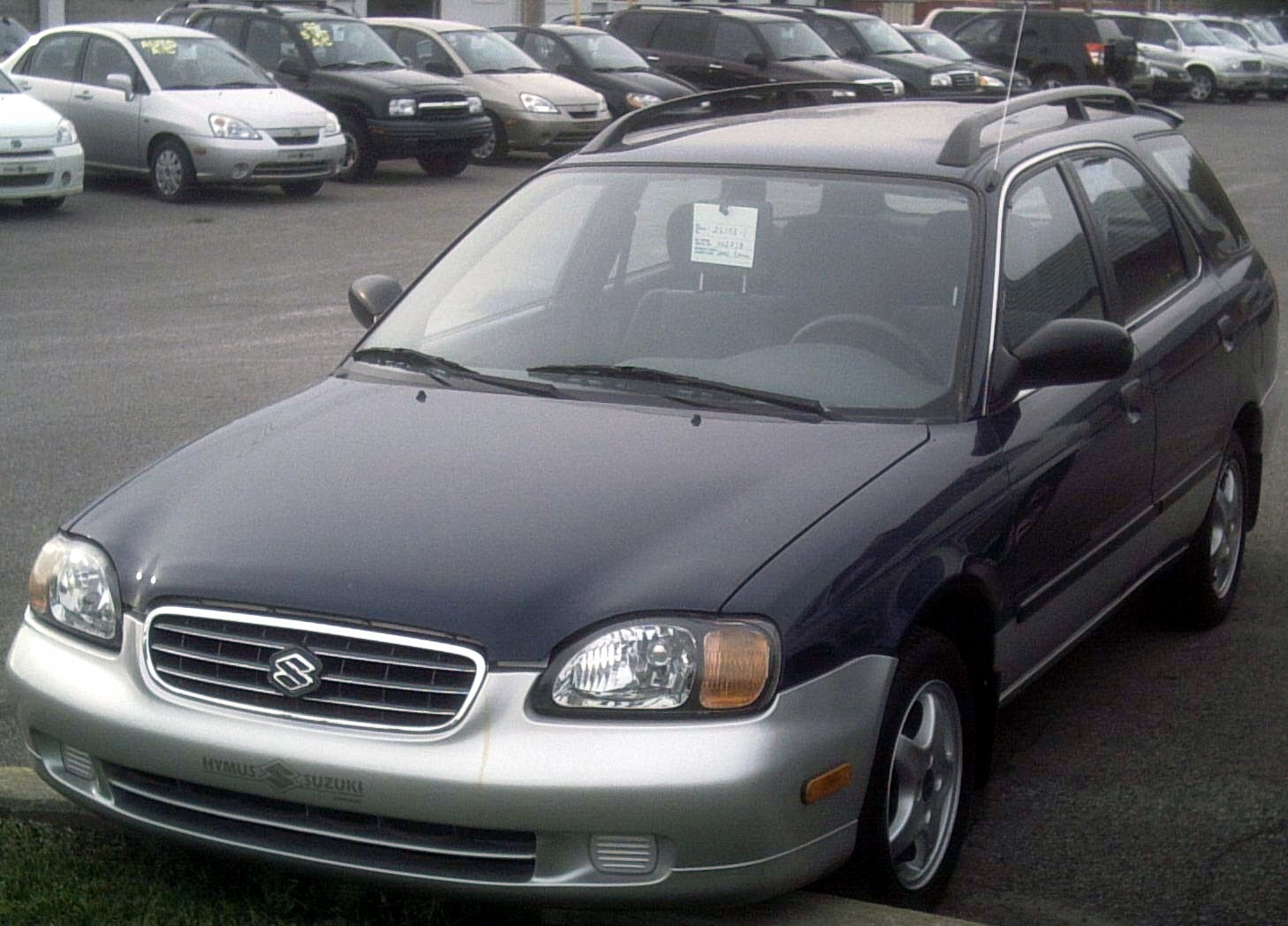 2002 suzuki esteem glx wagon 1 8l manual rh carspecs us Used 2002 Suzuki Esteem Recalls 1998 Suzuki Esteem Engine