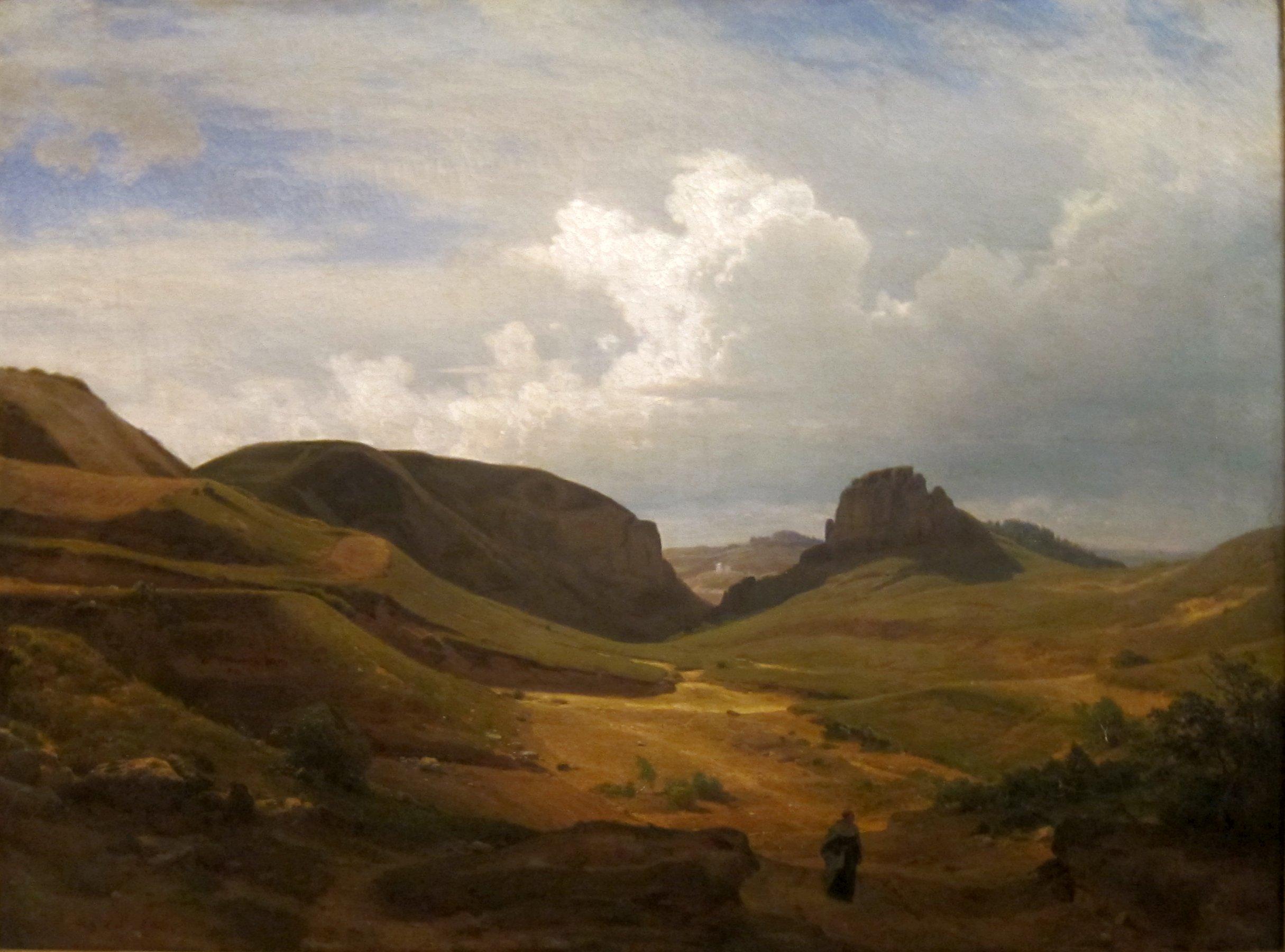 File:'Landscape' by Carl Friedrich Lessing, Cincinnati Art ...