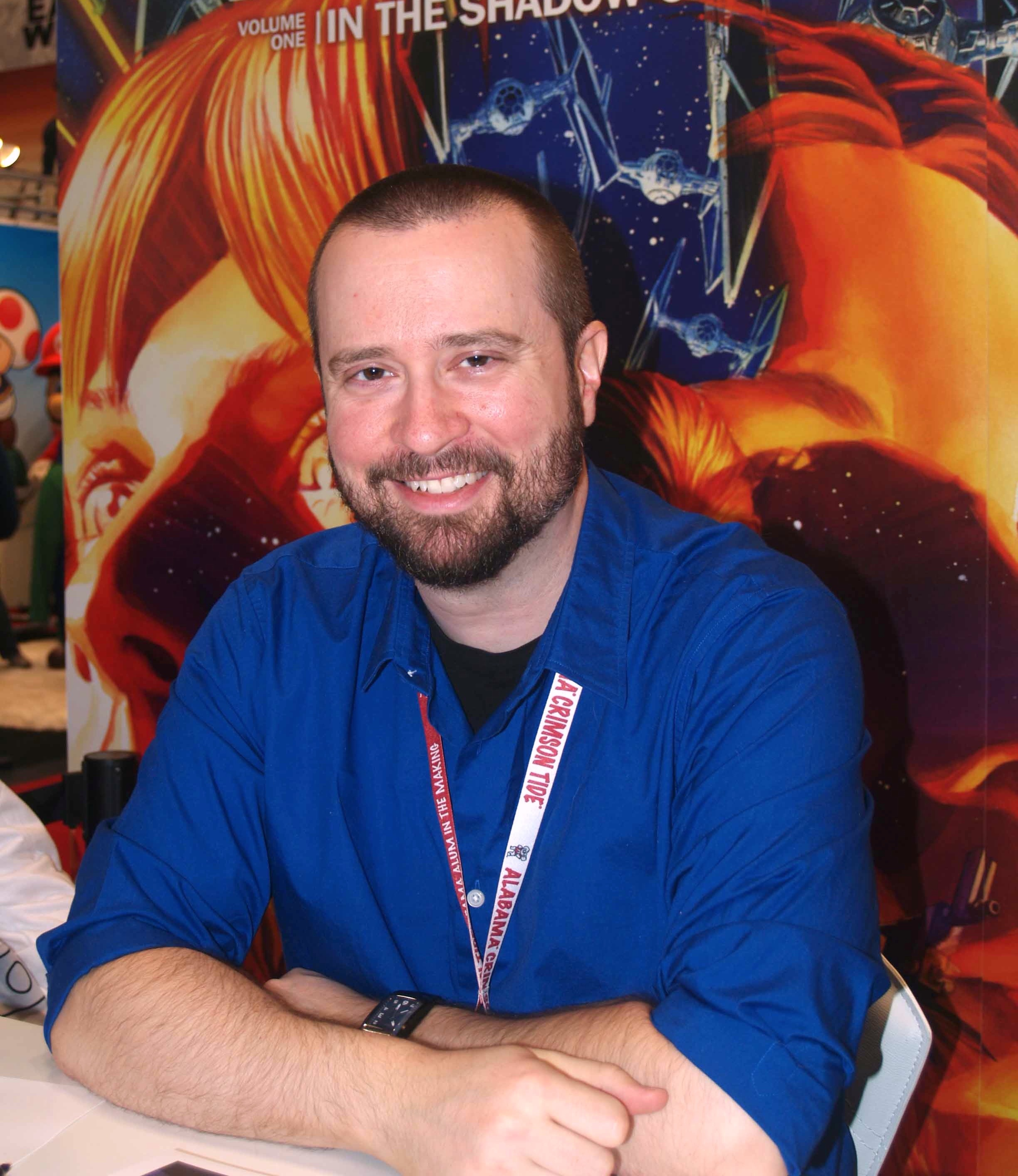 Jolley at the 2013 [[New York Comic Con]]
