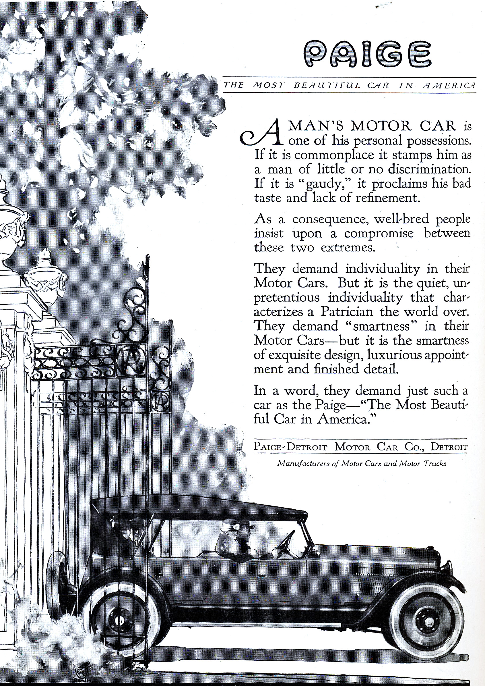 File 1920 Paige The Most Beautiful Car In America Jpg