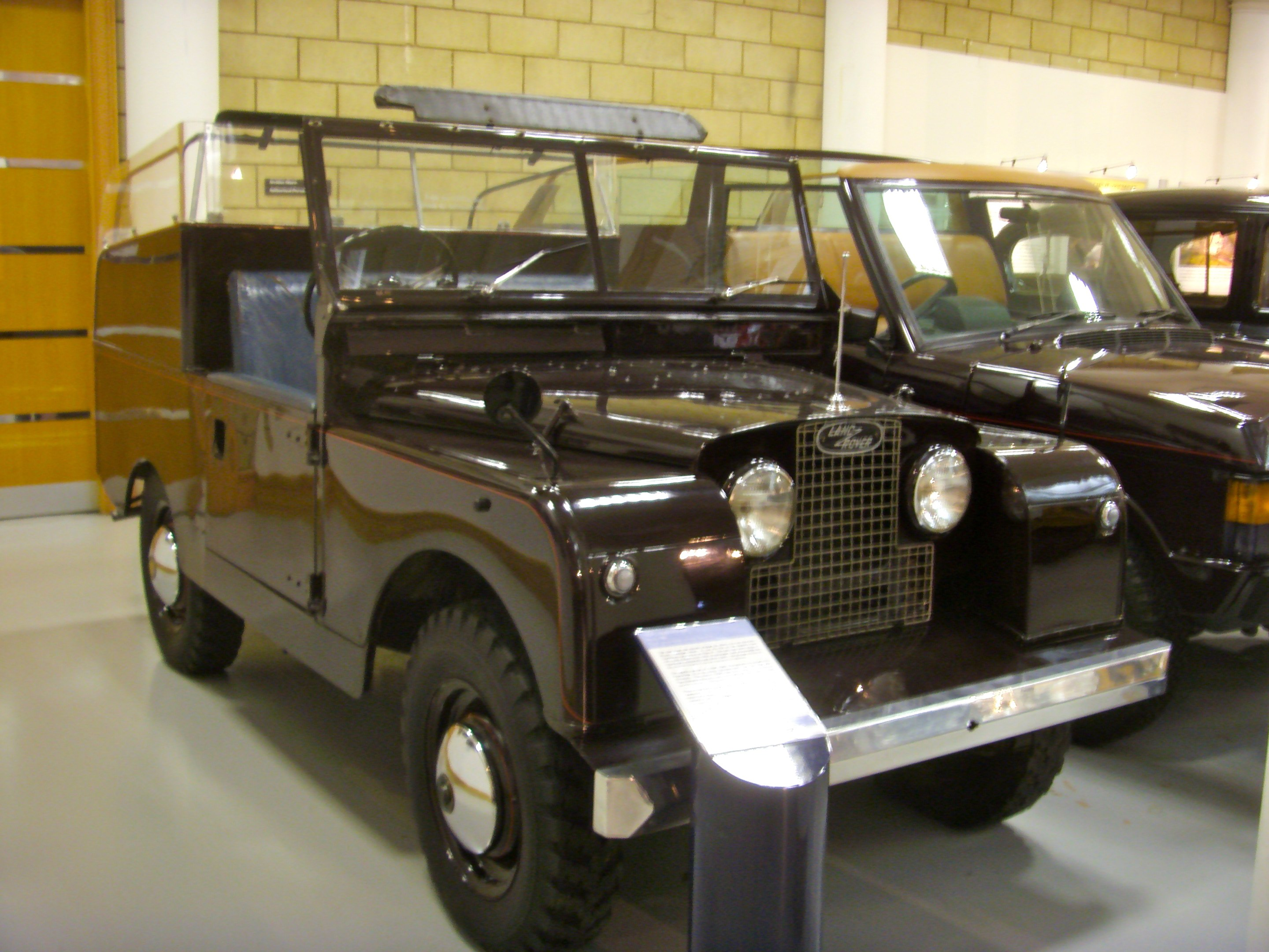 Description 1958 Land Rover Series II 88 Royal Review Vehicle State II ...