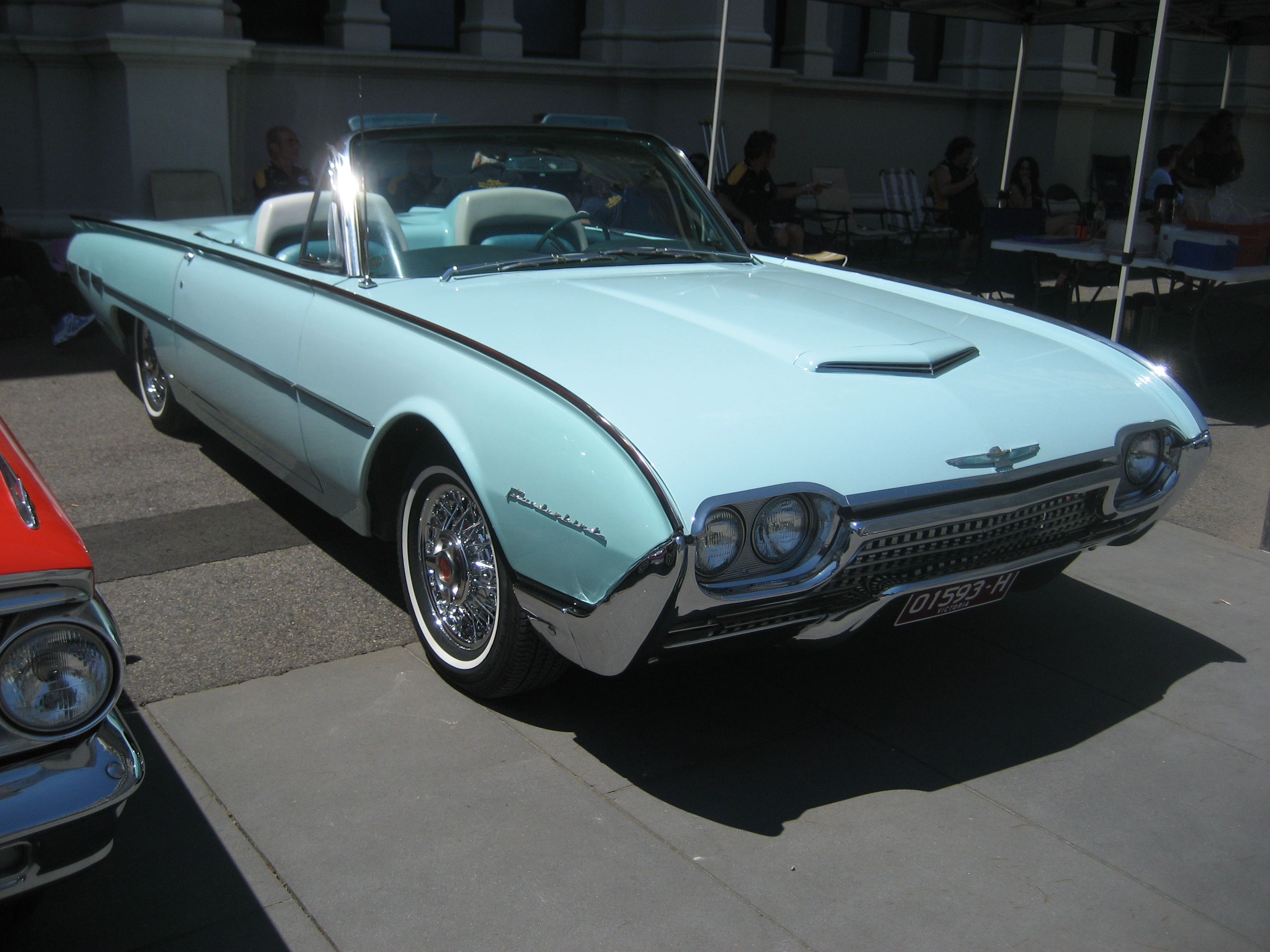 file 1962 ford thunderbird convertible 2 jpg. Cars Review. Best American Auto & Cars Review