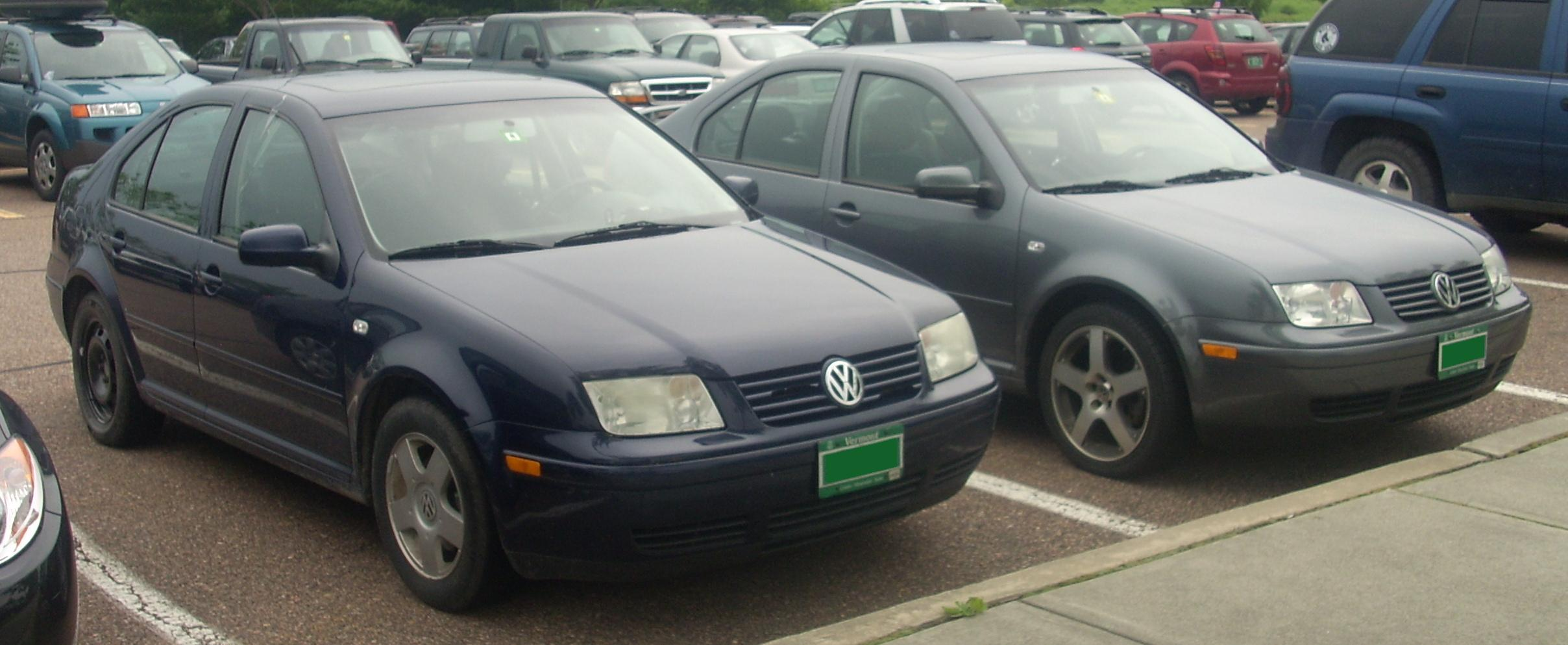 File 1999 2001 Volkswagen Jetta Sedans Jpg Wikimedia Commons