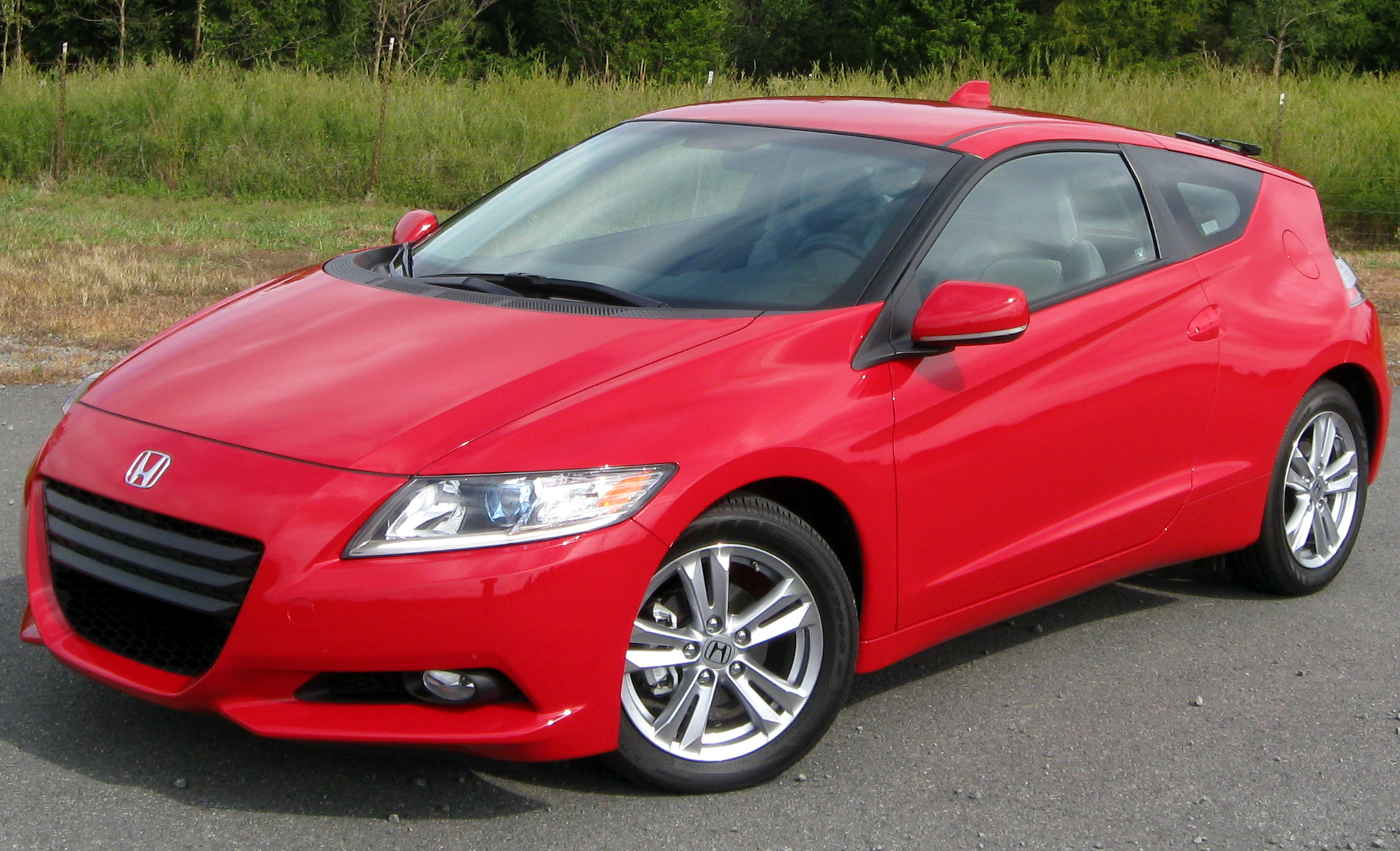 File:2011 Honda CR-Z EX -- 10-19-2010.jpg - Wikipedia, the free ...