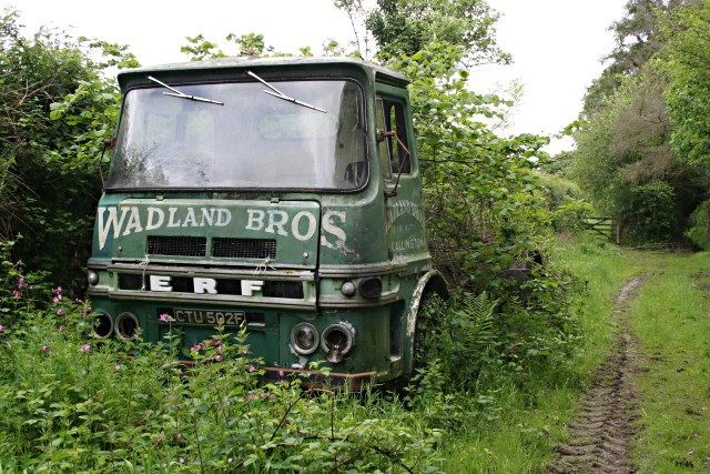 File:Abandoned Lorry on a Farm Track - geograph.org.uk - 450074.jpg