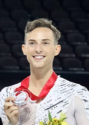 Adam Rippon at Skate America 2016 (cropped).jpg