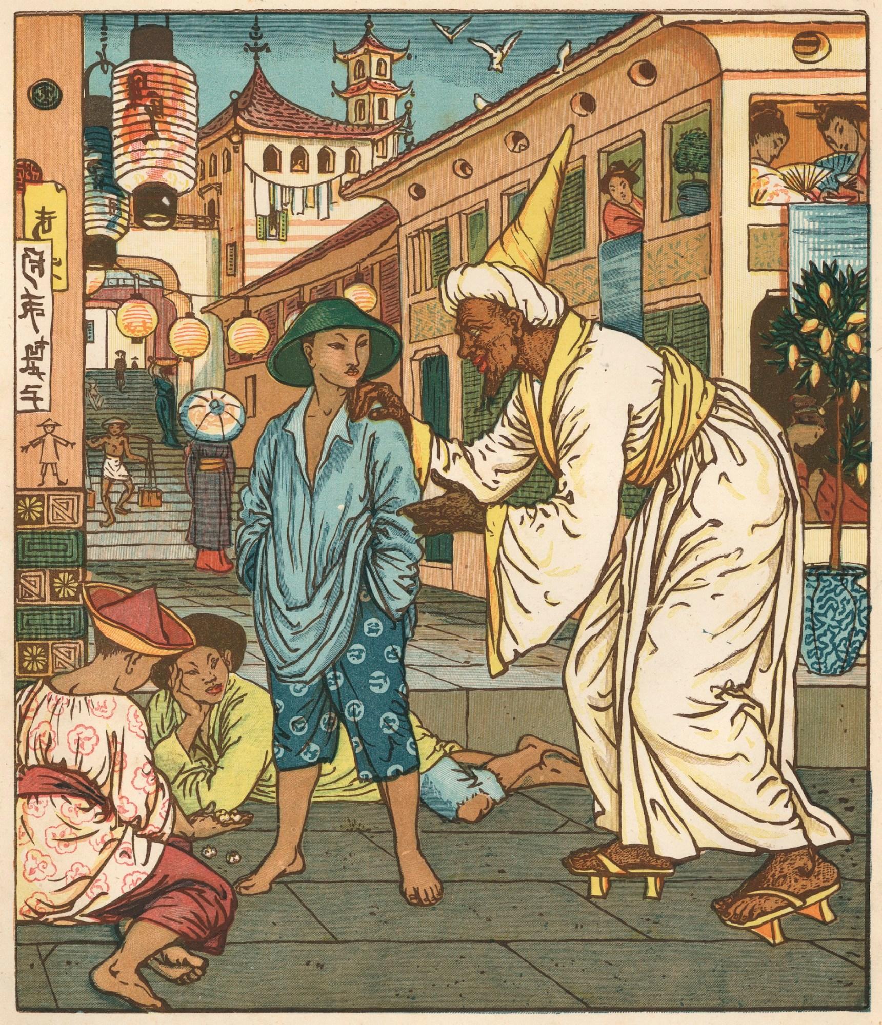 File Aladdin S Picture Book Arabian Nights 1878